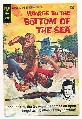 Gold Key Voyage To The Bottom Of The Sea #16  1970 Tv Tie-In Nm    Free Shipping