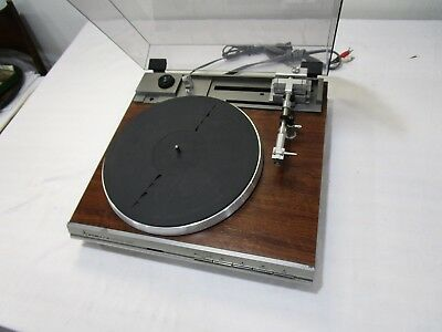 Vintage Mitsubishi LT-20 Linear Tracking Turntable w/ Nagatron 360CE Cart/Stylus