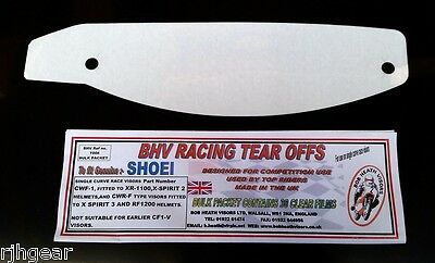 Shoei,cw1-F,cwr-F,clear,tear Offs,pack Of 30,for Genuine Race Visors,bhv T008