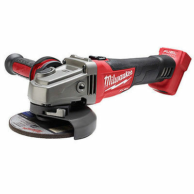 Milwaukee 2781-20 M18 FUEL 4-1/2 / 5 Grinder, Slide Switch Lock-On  New in Box