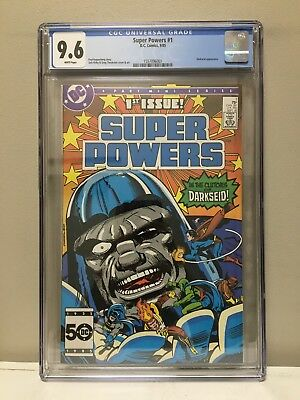 Super Powers #1 Cgc 9.6 Nm! High Grade! White Pages! Dc Comics