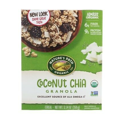 Nature's Path Organic Coconut Chia Granola 12.34 oz (350 g)