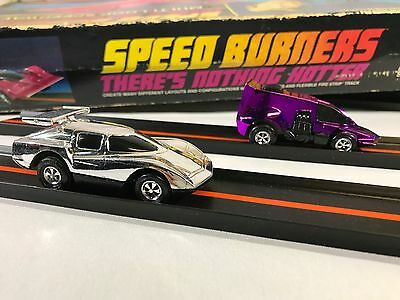Vintage 1977 Speed Burners Multi-Loop Speedway Set With 2 Cars Mego Corp Retro