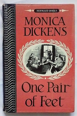 One Pair of Feet by Monica Dickens (Michael Joseph 1954) laminated PPC