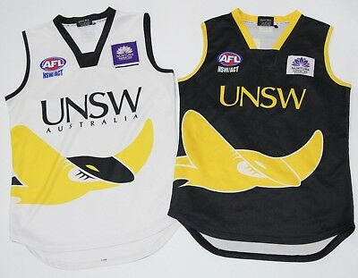 BULK LOT 2 x UNSW EASTERN SUBURBS BOY'S AFL NSW/ACT GUERNSEY LARGE