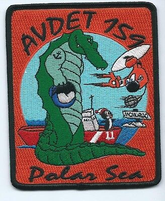 USCG United States Coast Guard Patch Avdet 159 (11) Polar Sea 4-1/2 X 3-5/8