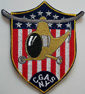 United States Coast Guard (USCG) patch air station New York 5 X 4-3/8 inch