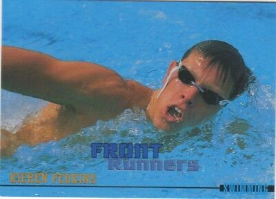 Australian Olympic Card. Swimming - Kieren Perkins