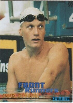Australian Olympic Card. Swimming - Daniel Kowalsi