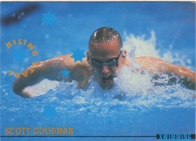 Australian Olympic Card. Swimming - Scott Goodman
