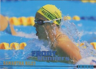 Australian Olympic Card. Swimming - Samantha Riley