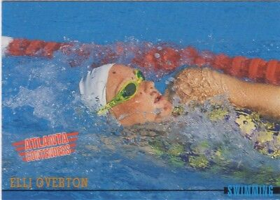 Australian Olympic Card. Swimming - Elli Overton