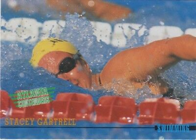 Australian Olympic Card. Swimming - Stacey Gartreel