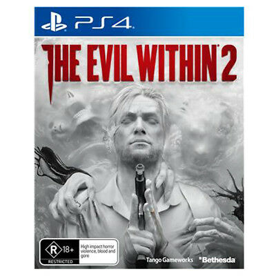 Sealed Brand New The Evil Within 2 (PS4, Playstation 4) Free Shipping