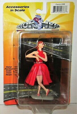 1:18 Motorhead Miniatures Francis Red Dress Figurine #368