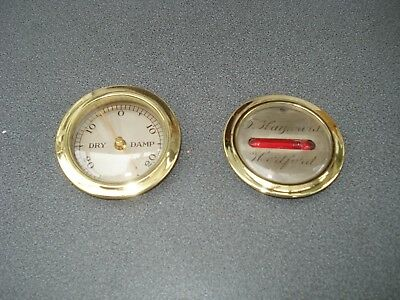 Wheel Barometer Dry Damp & Level Gauge Parts Spares