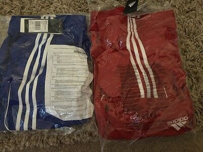 2x Adidas Men's Squad 13 WB Shorts Size XL New RRP £49.98