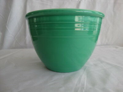 Vintage Fiesta Ware Light Green #3 Mixing Bowl No Bottom Rings Free Shipping