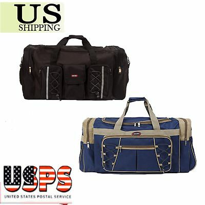 """26"""" Waterproof Overnight Bag Tote Travel Gym Sport Bag Duffle Carry On LuggageTO"""