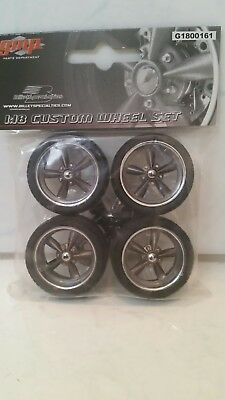 Gmp 1:18 Street Fighter Wheels New In Packet Rare!