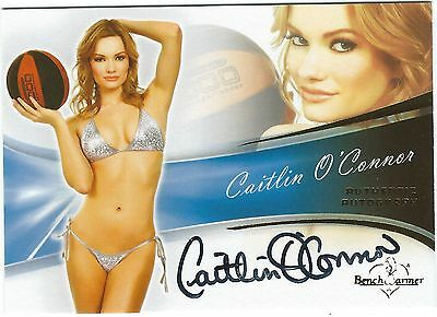 Bench Warmers Caitlin O'Connor Authentic Autograph Card 2013 Good Condition
