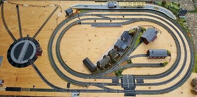 LARGE OO GAUGE Layout - 8X4  Incomplete  Renovation Project  Collection  Only