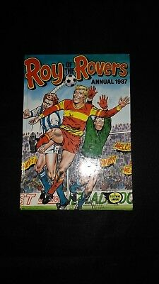 Roy of The Rovers Annual 1987 Vintage Football/Soccer Hardback