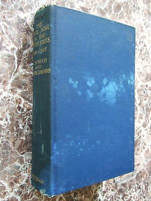 A History of the US Civil War 1861-5 w/Large Collection of Battle Maps W.B.Wood
