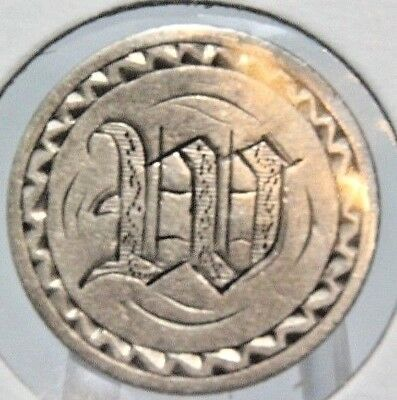 No Date Liberty Seated Half Dime 5C  - LOVE TOKEN - W - Lot # LT 555