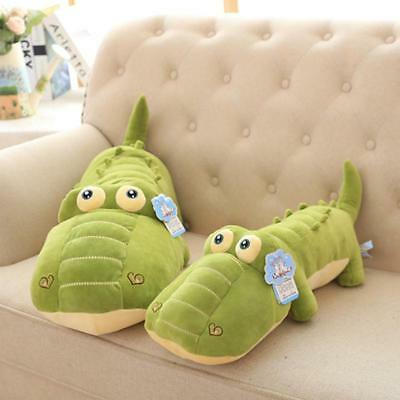 Lovely Crocodile Pillow Stuffed Animal Toy Soft Plush Doll Baby Kids Gift 50CM