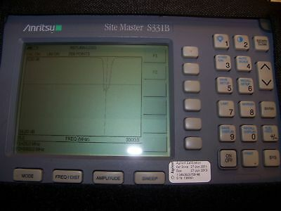 Nice Anritsu S331B opt.5 Site Master w/New case,Screen,Battery,Charger Full Test