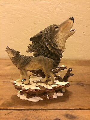 Cry of Strength Wolf Hamilton Collection Wolves #1423A
