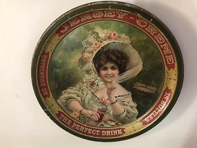 """Very Rare """" Jersey Creame """" Soda  """"the Perfect Drink"""" Tray"""