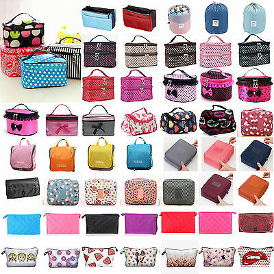 Women Travel Organizer Toiletry Cosmetic Make Up Bag Pouch Holder Case Handbags