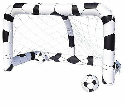 Bestway Inflatable Football Goal Set Soccar Net Kids Summer Fun Paly Game Toy