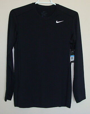 NWT Nike Men's Dri-Fit Dry Fitted Long Sleeve Tee Shirt Size S M L XL 2XL 748866