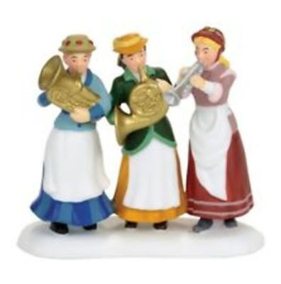 Dept 56 Dickens Village-Ladie's Auxillary Band-Free ship-brand new