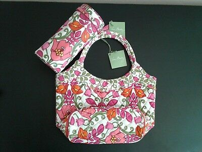 Nwt - Vera Bradley Daisy And Baby Bottle Caddy In Lilli Bell