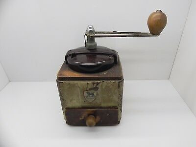 ANTIQUE CIRCA 1920s PEUGEOT FRERES FRANCE COFFEE GRINDER