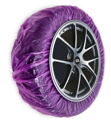 ALLOY WHEEL MASKING COVERS WHEEL MASKING FILM 4 x PAINT ABSORBENT MASKERS