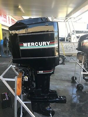 115hp Mercury Outboard Motor