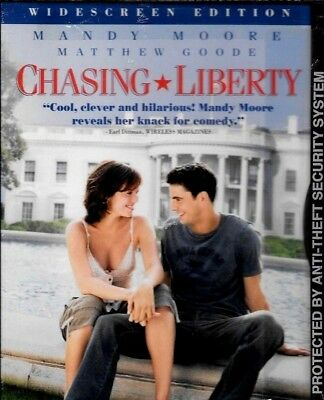 Chasing Liberty DVD 2004 Widescreen Mandy Moore BRAND NEW FREE SHIP TRACK US