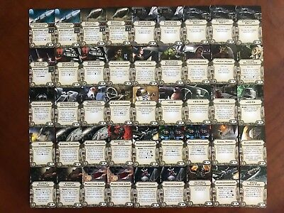 Star Wars X-Wing Miniatures Game - Assorted Upgrade Cards