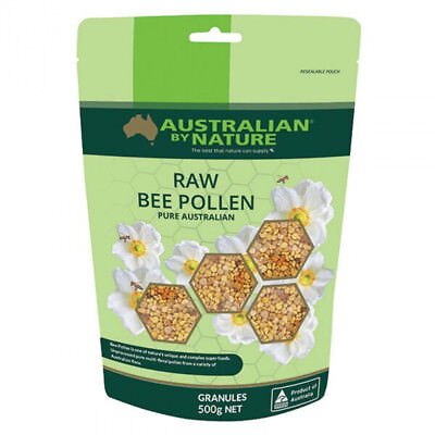 Australian by Nature Raw Bee Pollen 500g