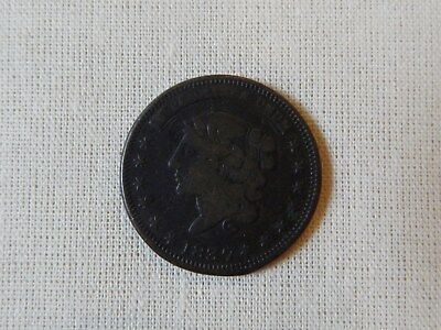 1837 Hard Times Token Millions For Defence Not One Cent For Tribute Copper Coin
