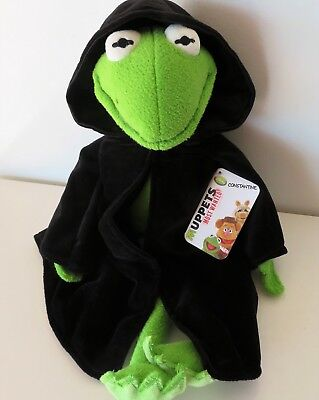 "Disney Store Muppets CONSTANTINE KERMIT Plush 18"" Stuffed Most Wanted Movie Tag"