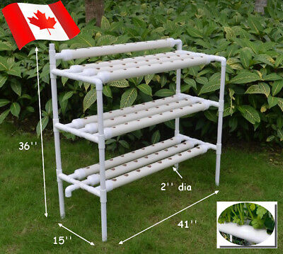 110v 90 Holes Hydroponic Grow Kit Hydroponic Systems Vegetable Planting System