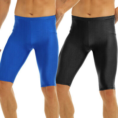 Men's Shorts Sports Fitness Running Gyms Quick-Dry Compression Swim Pants Tights