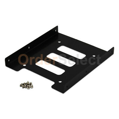 "2.5"" to 3.5"" Bay SSD Metal Hard Drive HDD Mounting Bracket Adapter Dock / Tray T"