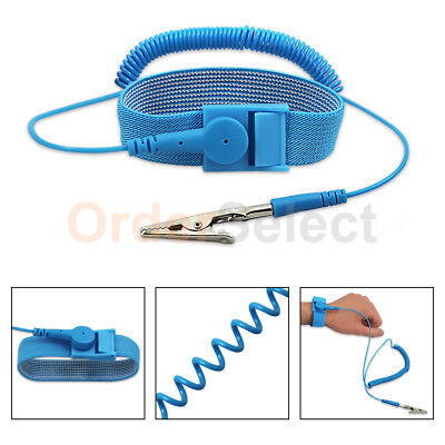 Anti-static Antistatic ESD Ground Strap Wrist Band Grounding Bracelet